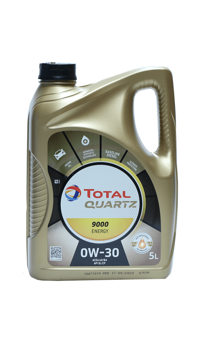 Total Quartz 9000 ENERGY 0W-30 Motoröl, 5l