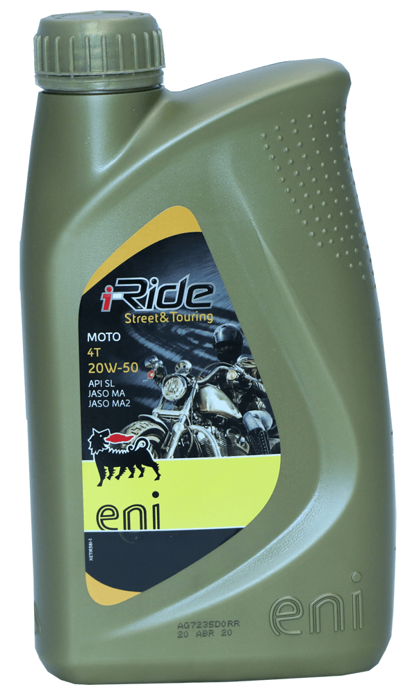 Eni i-Ride Moto 20W-50 Motorrad Motoröl 1l