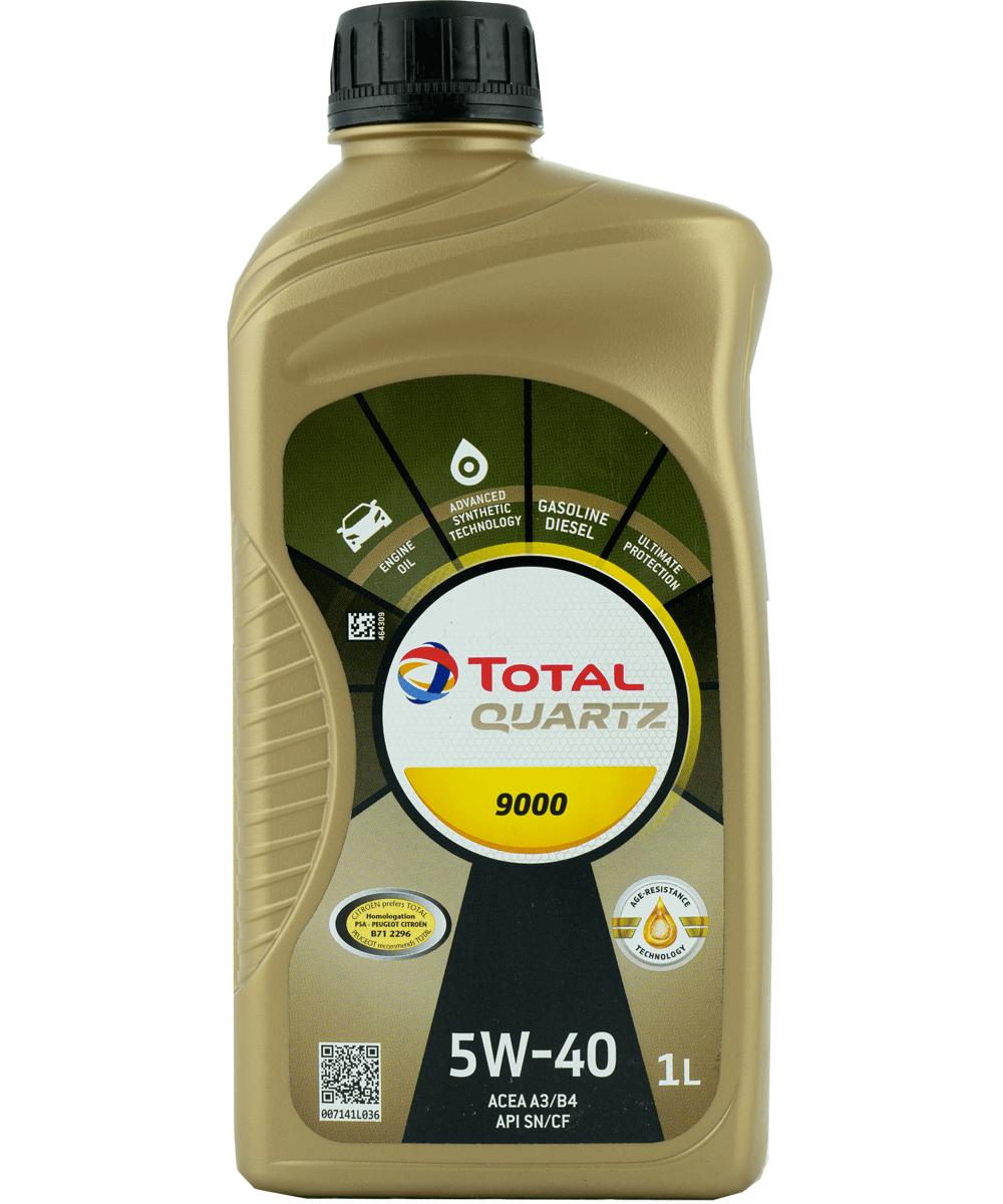 Total Quartz 9000 5W-40 Motoröl, 1l