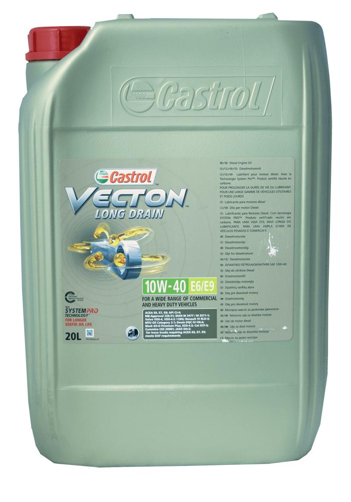 Castrol Vecton Long Drain E6/ E9 10W-40 Motoröll 20l