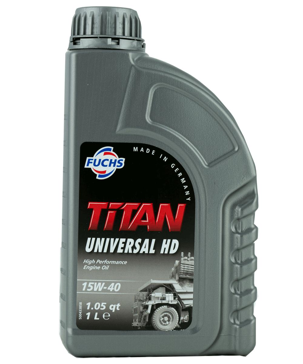 Fuchs TITAN UNIVERSAL HD 15W-40 Motoröl, 1l