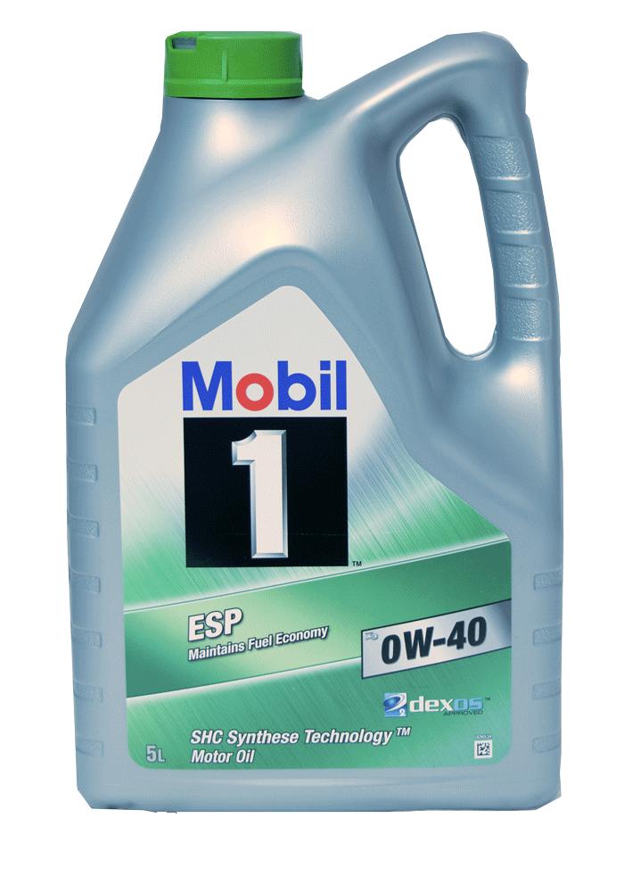 Mobil 1 ESP X3 0W-40 Motoröl 5l