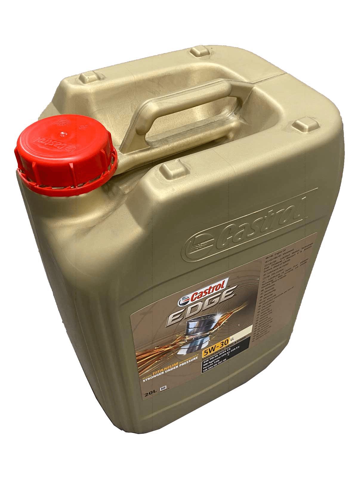 Castrol EDGE Titanium FST 5W-30 LL Motoröl 20l