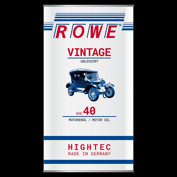 Rowe Hightec Vintage SAE 40 UNLEGIERT Classicöl, 5l