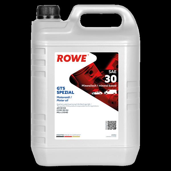 Rowe Hightec GTS SPEZIAL SAE 30 Motoröl, 5l