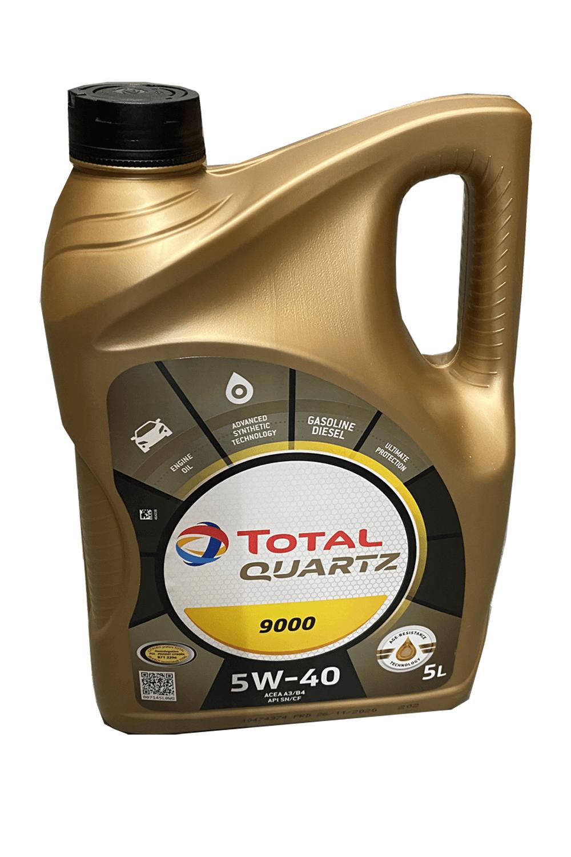 Total Quartz 9000 5W-40 Motoröl, 5l