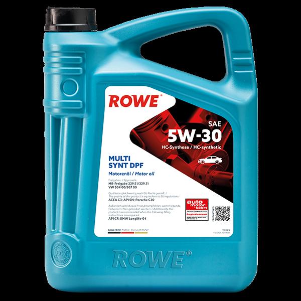 Rowe Hightec Multi Synt DPF SAE 5W-30 Motoröl, 5l