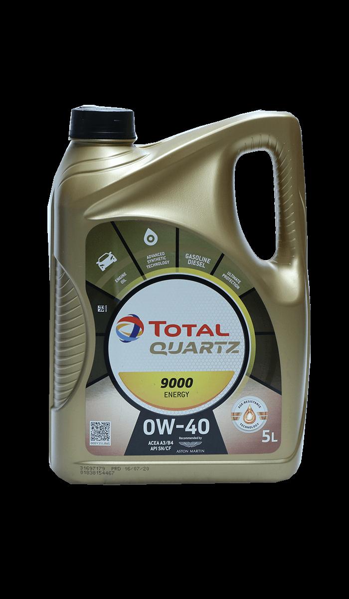 Total Quartz 9000 ENERGY 0W-40 Motoröl, 5l