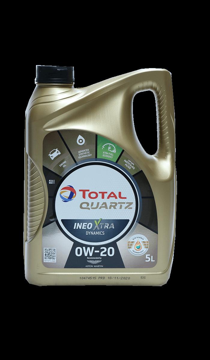 Total Quartz INEO XTRA DYNAMICS 0W-20 Motoröl, 5l