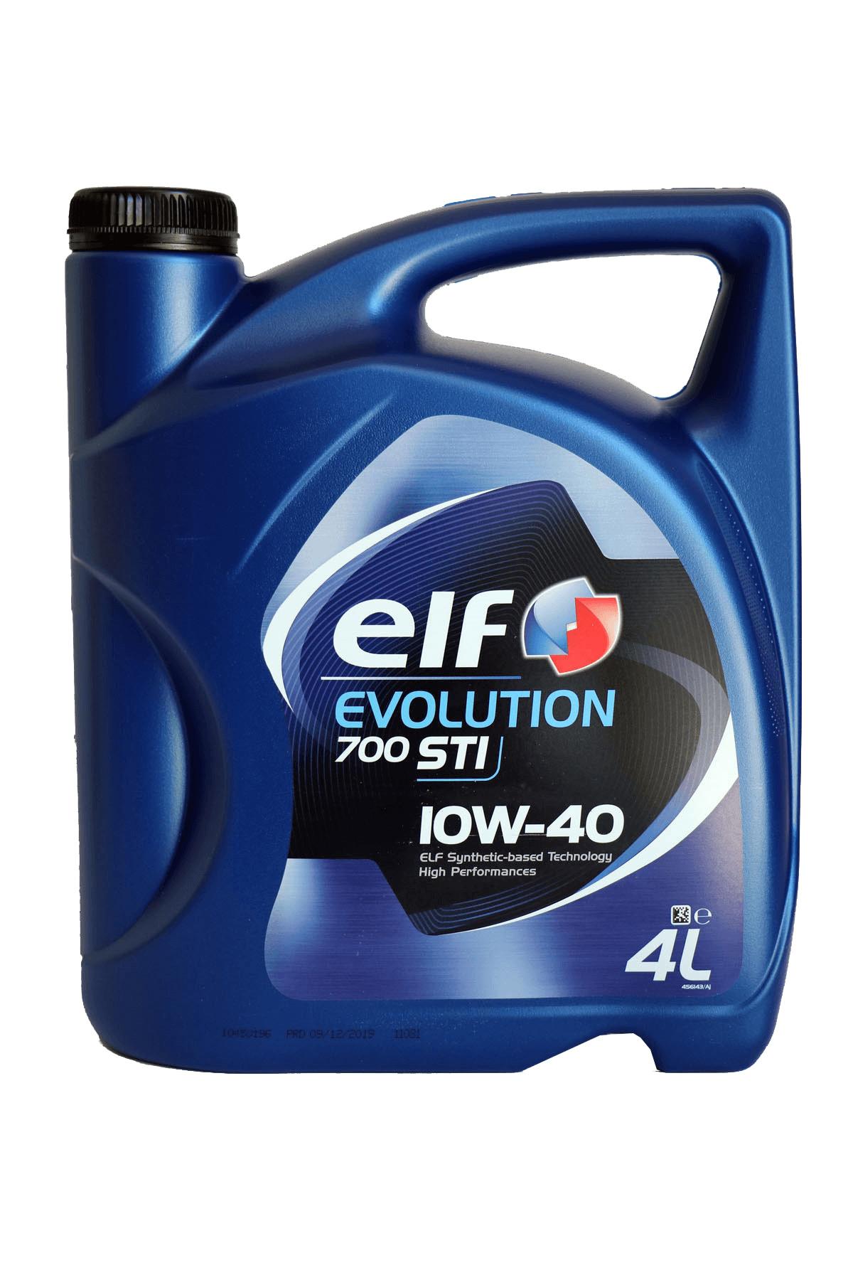 ELF Evolution 700 STI 10W-40 Motoröl, 4l