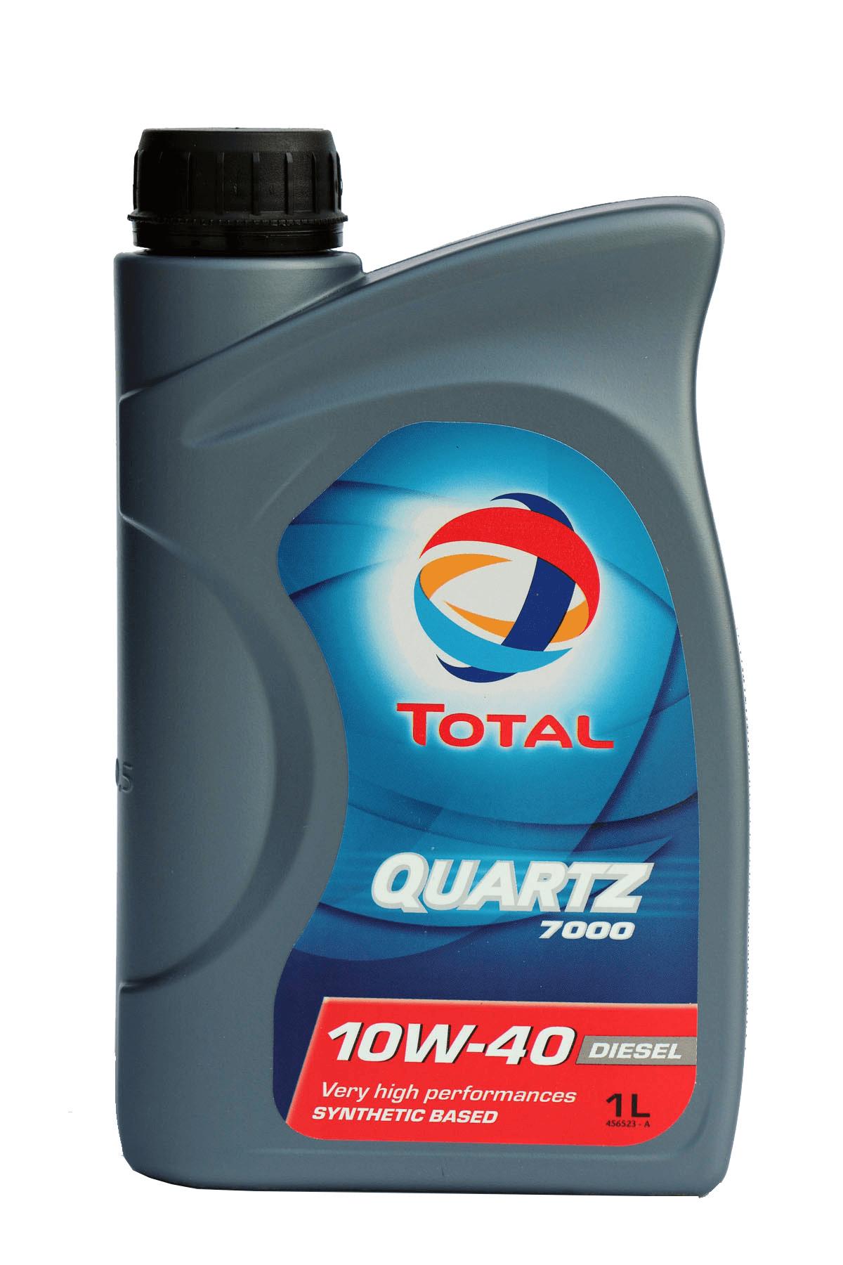 Total Quartz 7000 Diesel 10W-40 Motoröl, 1l