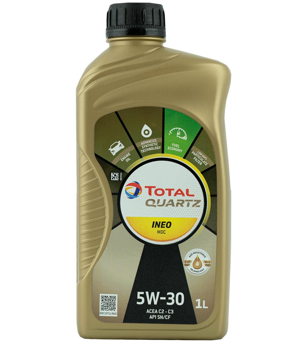 Total Quartz INEO MDC 5W-30 Motoröl, 1l