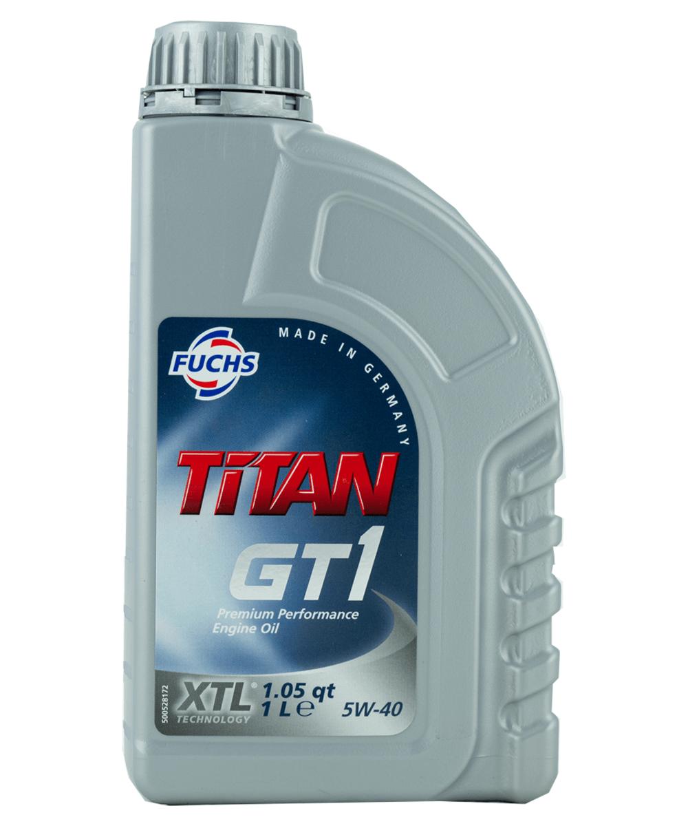 Fuchs TITAN GT1 5W-40 Motoröl, 1l