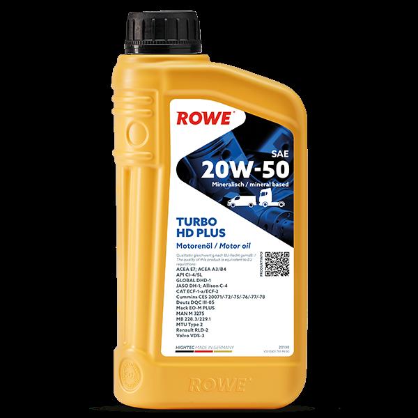 Rowe Hightec Turbo HD SAE 20W-50 PLUS Motoröl, 1l