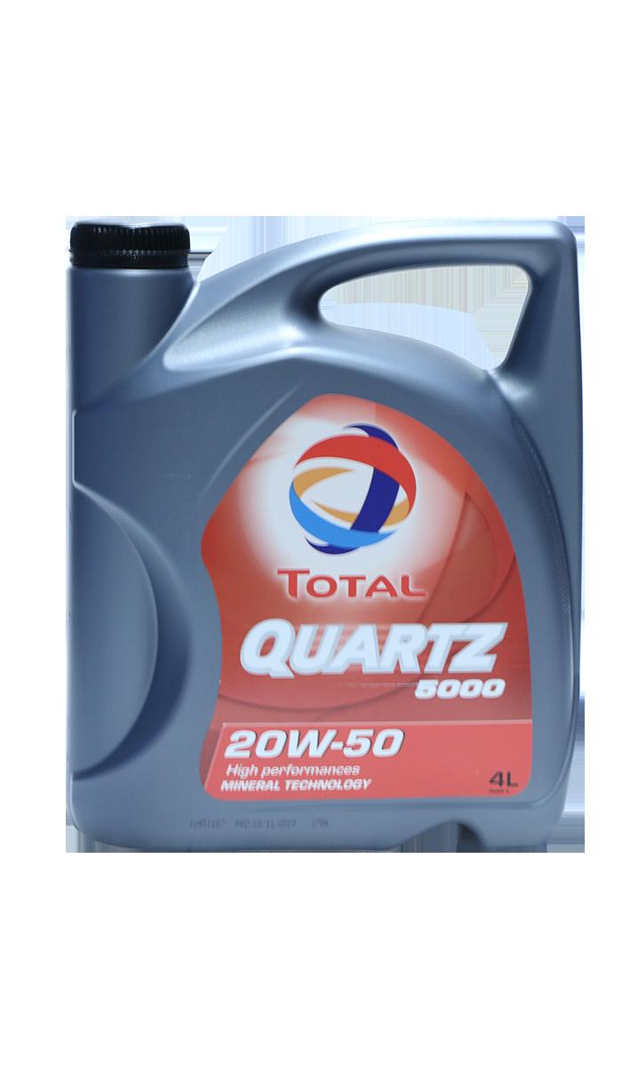 Total Quartz 5000 20W-50 Motoröl, 4l