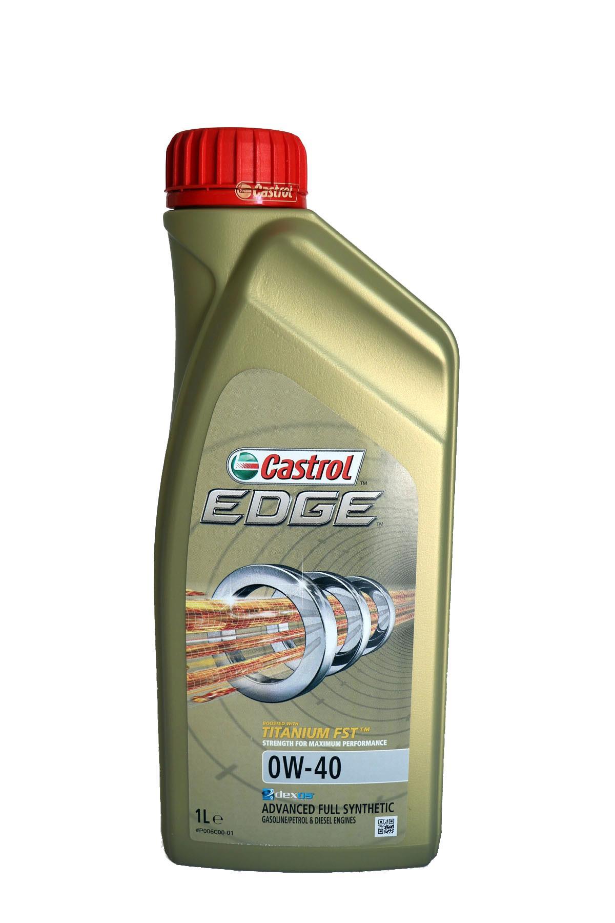 Castrol Edge 0W-40 Motoröl, 1l