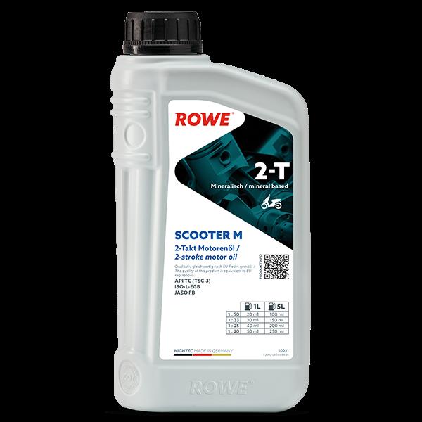 Rowe Hightec 2-T SCOOTER M Zweiradöl, 1l