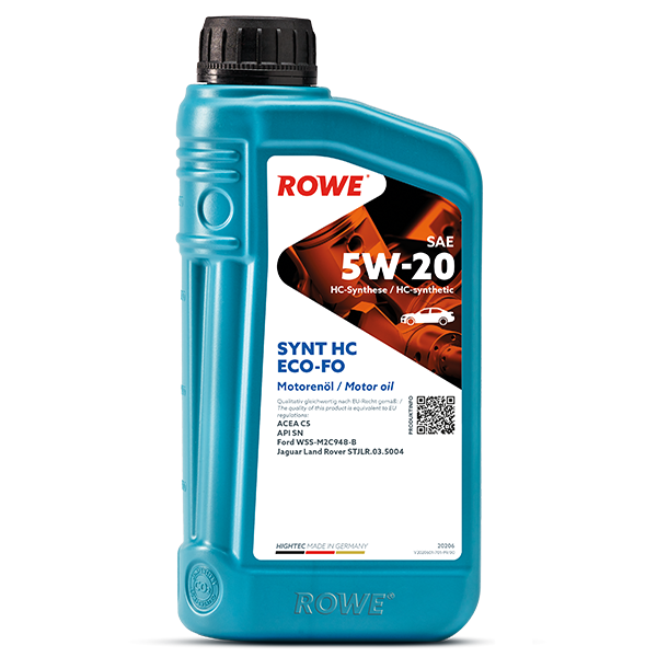 Rowe Hightec Synt HC ECO-FO SAE 5W-20 Motoröl, 1l