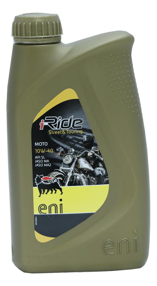 Eni i-Ride Moto 10W-40 Motorrad Motoröl 1l