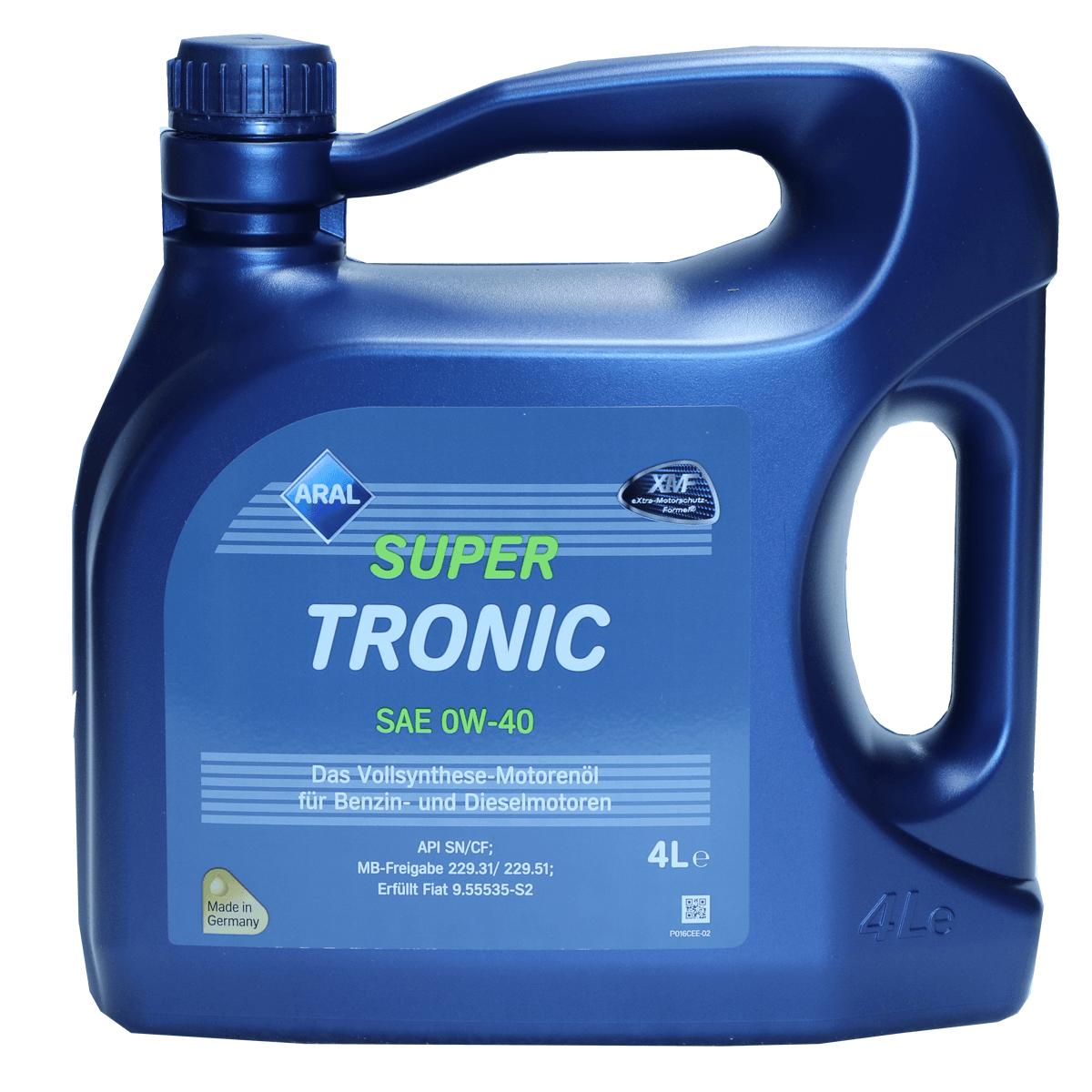 Aral SuperTronic 0W-40 Motoröl, 4l