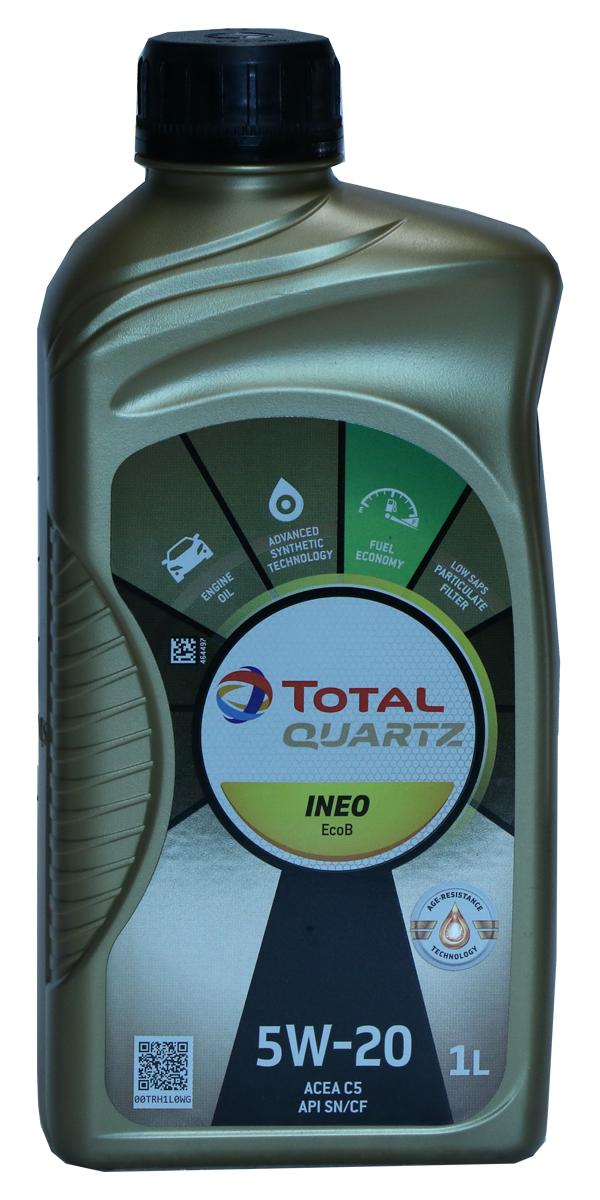 Total Quartz INEO EcoB 5W-20 Motoröl, 1l