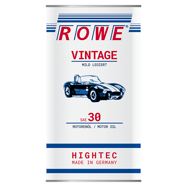 Rowe Hightec Vintage SAE 30 MILD LEGIERT Classicöl/Motoröl, 5l