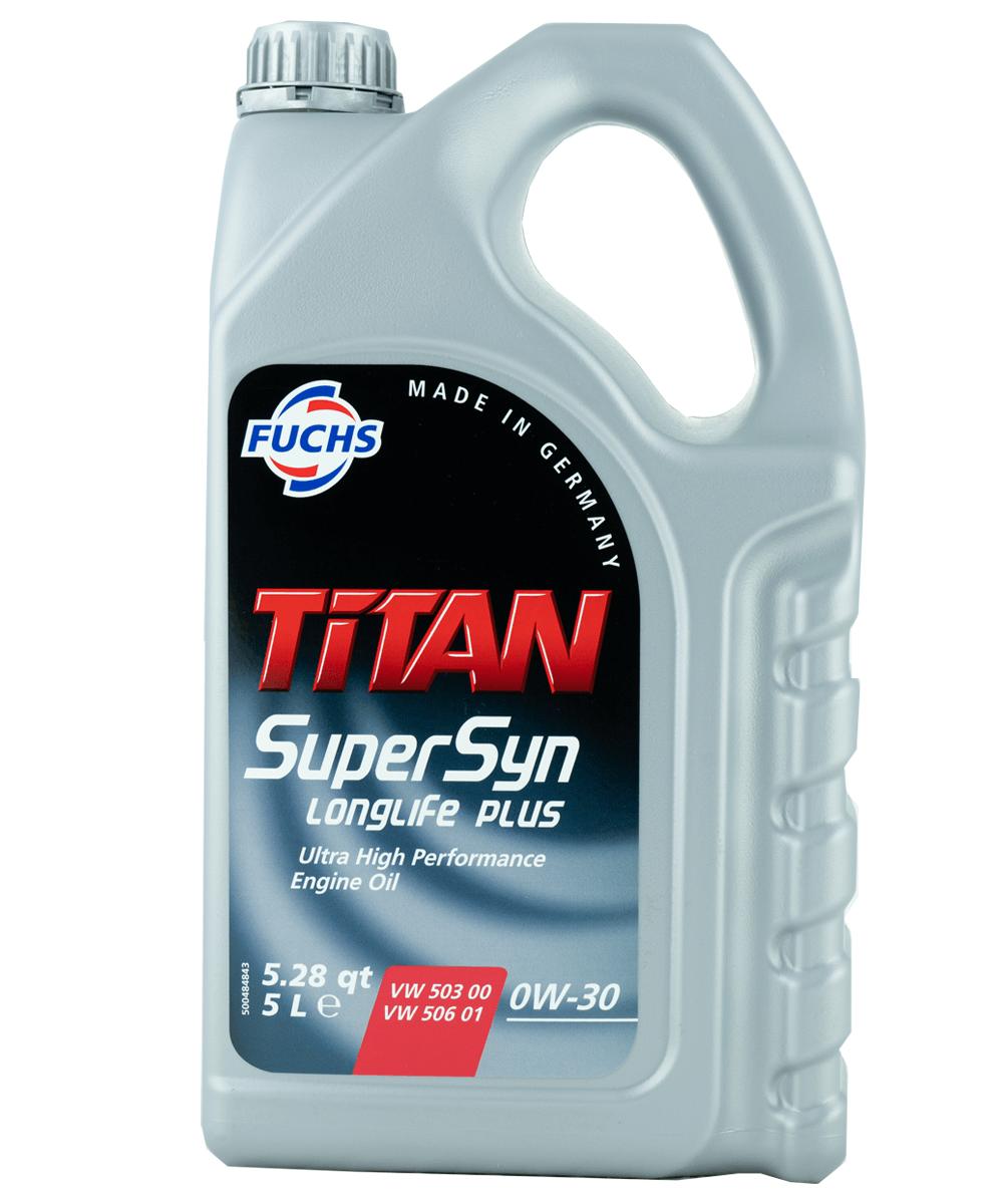 Fuchs TITAN SUPERSYN LONGLIFE 0W-30 Motoröl, 5l
