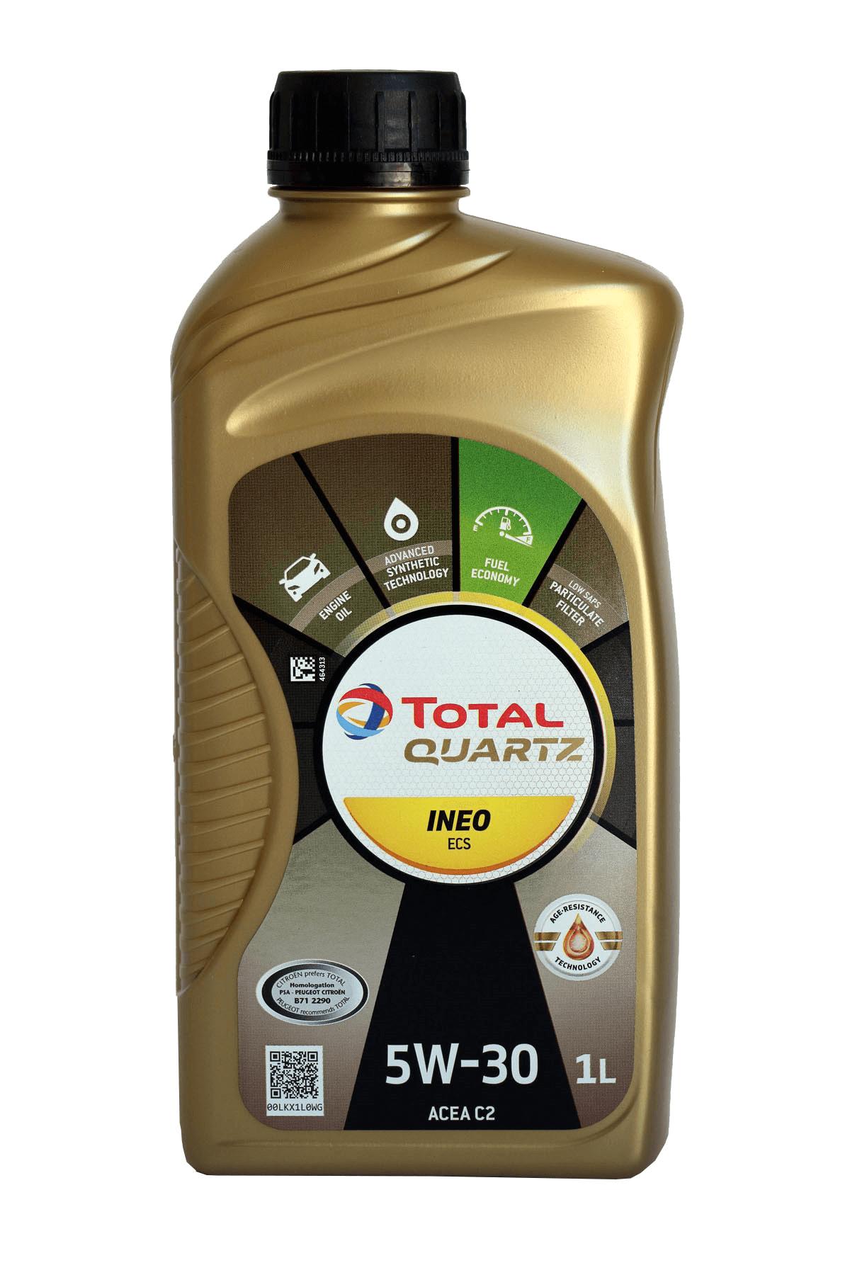Total Quartz INEO ECS 5W-30 Motoröl, 1l