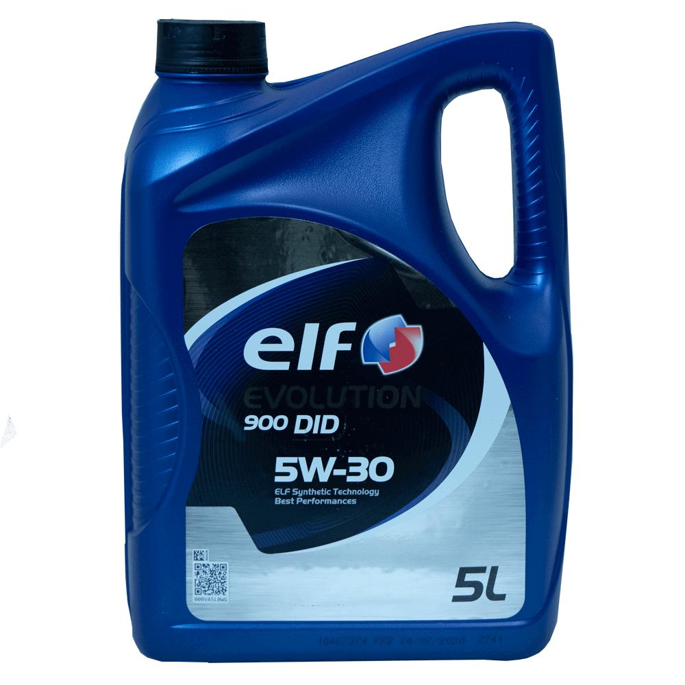 ELF Evolution 900 DID 5W-30 Motoröl, 5l