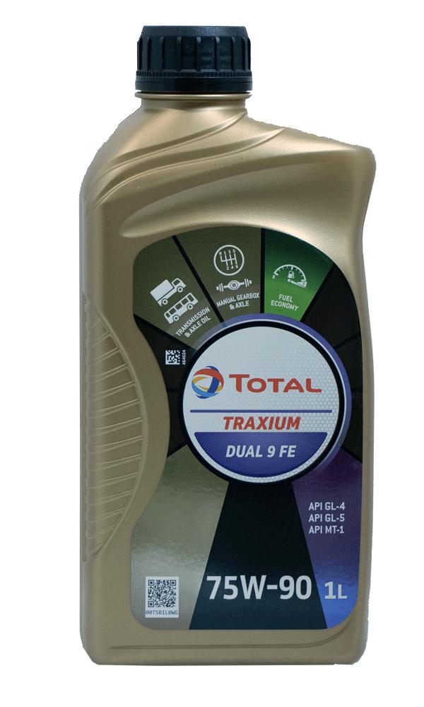 Total Traxium Dual 9 FE 75W-90 Getriebeöl, 1l