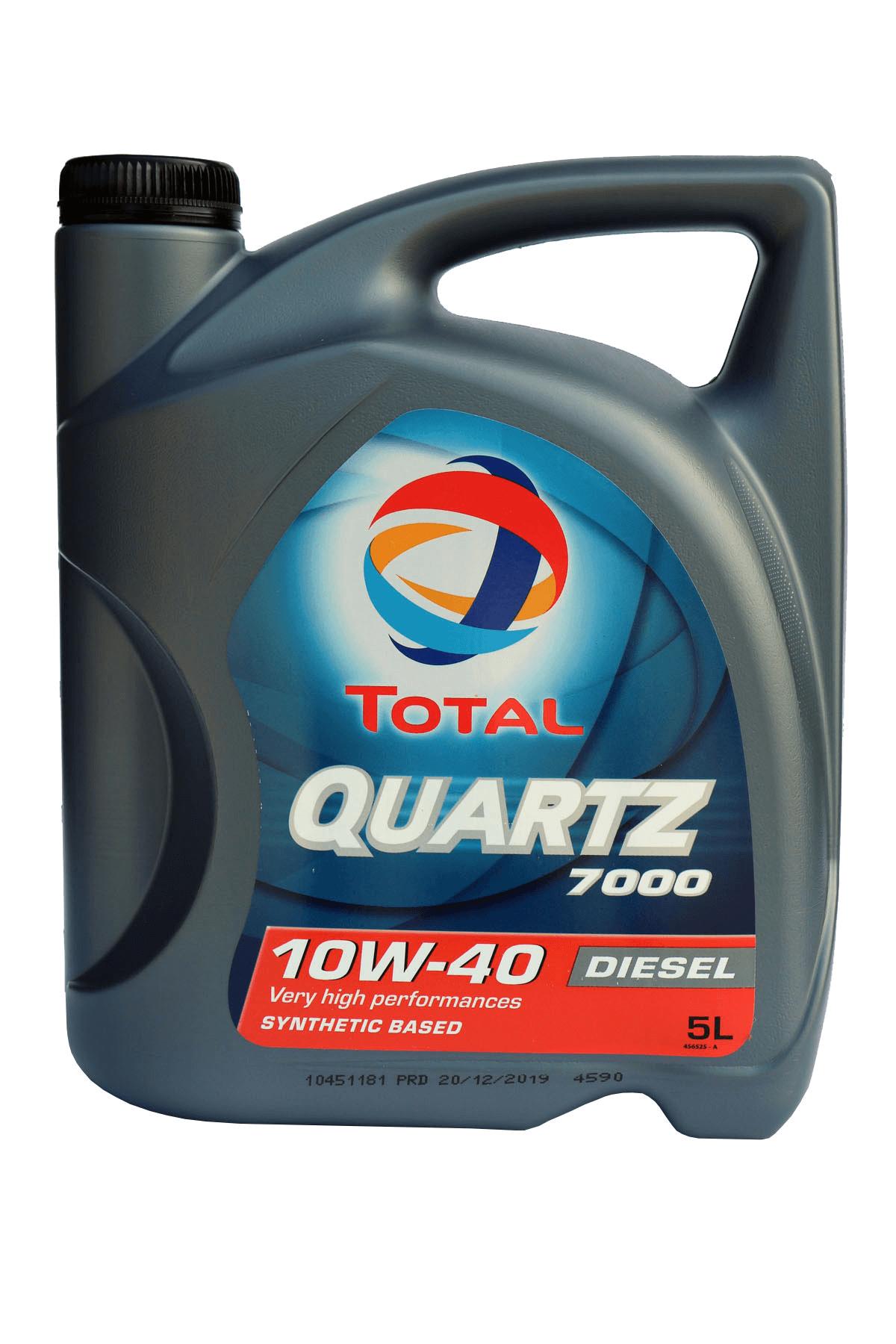 Total Quartz 7000 Diesel 10W-40 Motoröl, 5l
