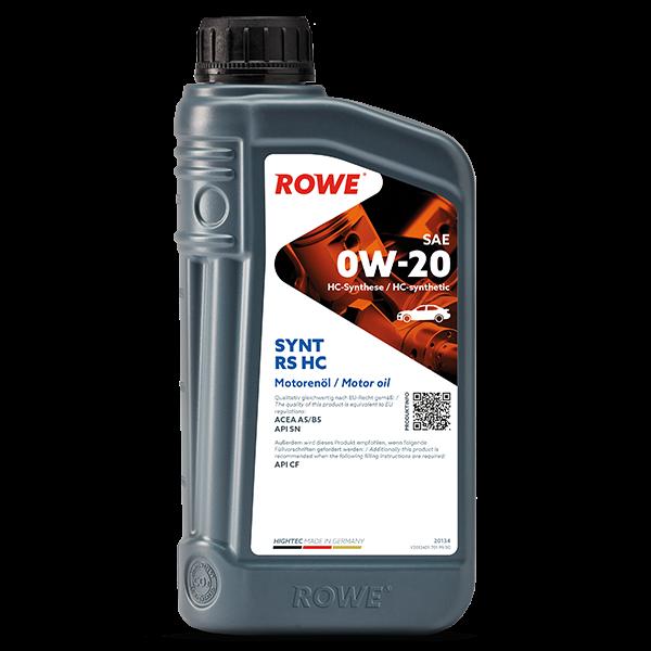 Rowe Hightec Synt RS HC SAE 0W-20 Motoröl, 1l
