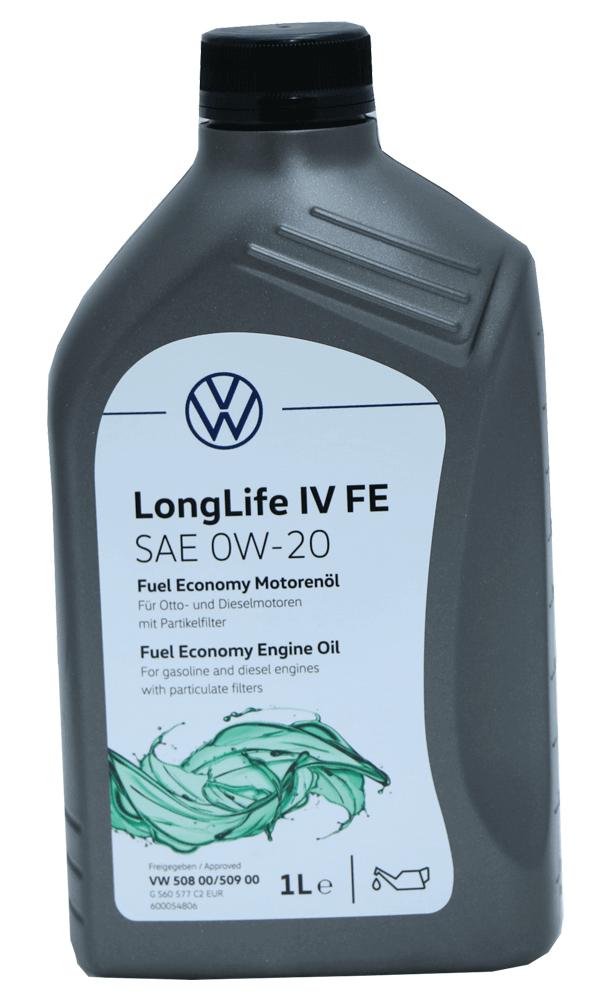 VW Group Longlife IV FE 0W-20 Motoröl 1l