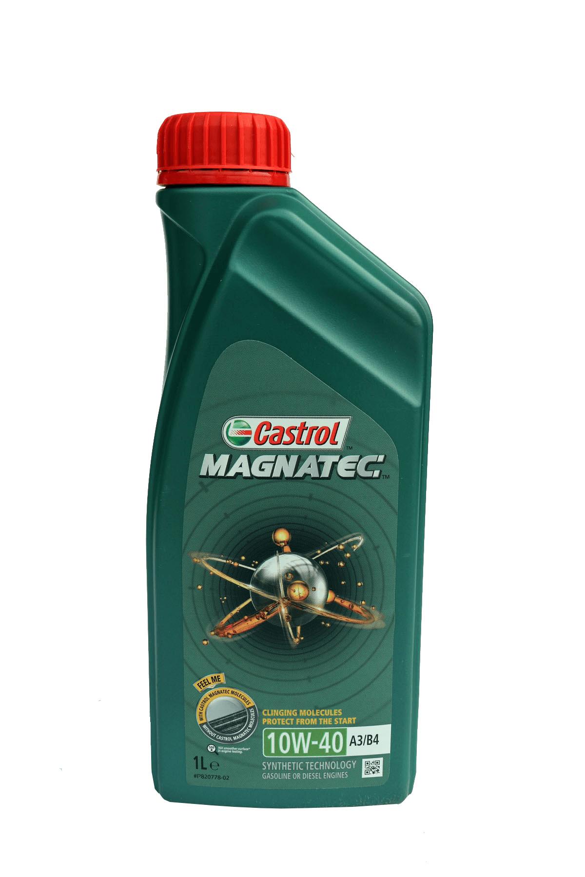 Castrol Magnatec 10W-40 A3/B4 Motoröl, 1l