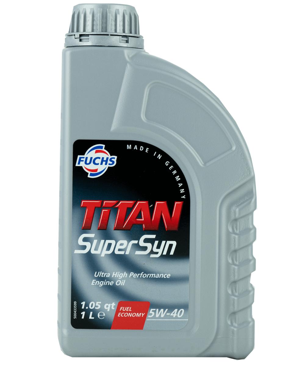 Fuchs TITAN SUPERSYN 5W-40 Motoröl, 1l