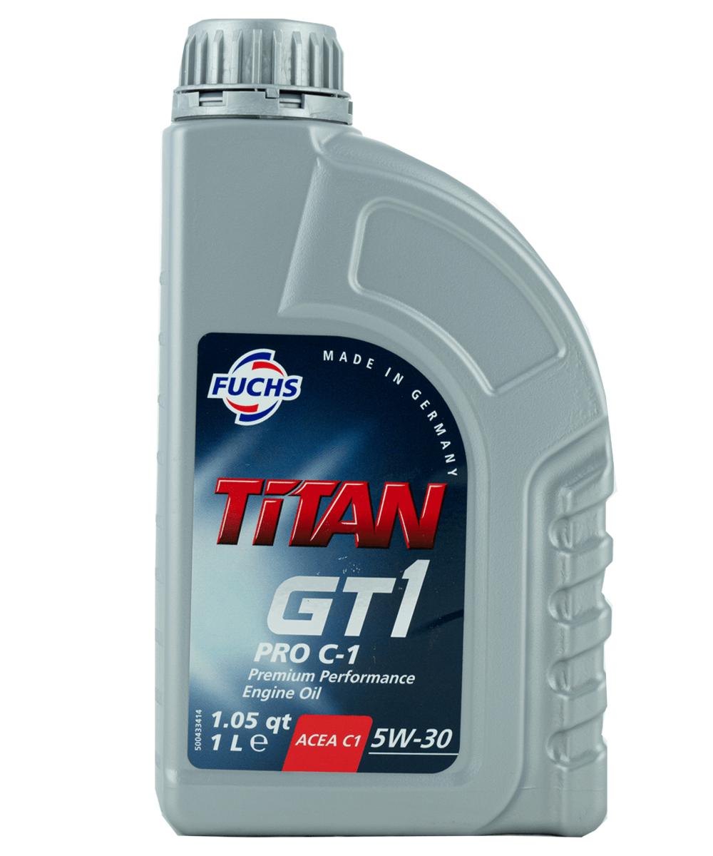 Fuchs TITAN GT1 PRO C-1 5W-30 Motoröl, 1l