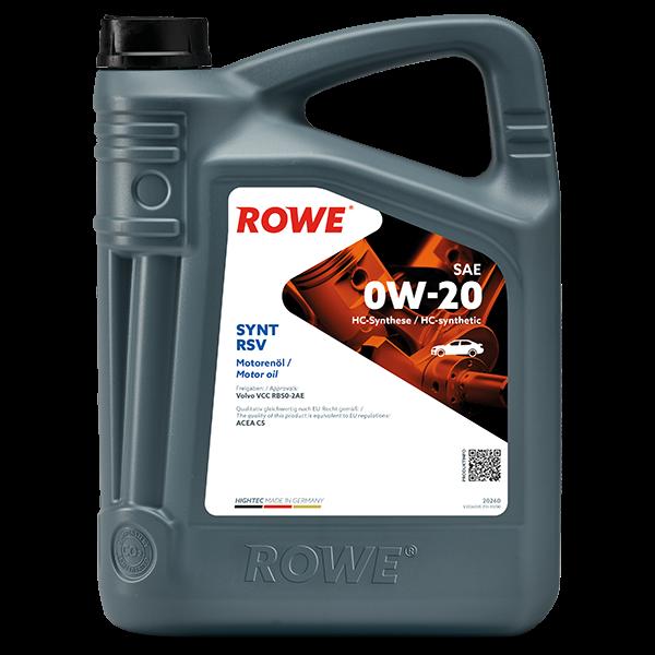Rowe Hightec Synt RSV SAE 0W-20 Motoröl, 5l