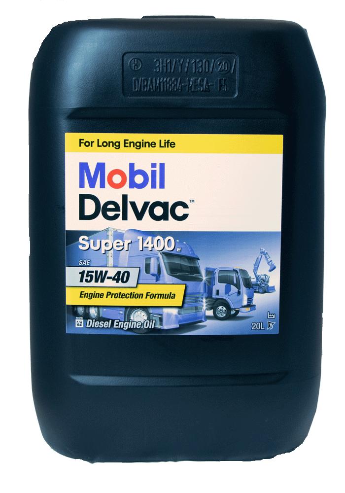 Mobil Delvac Super 1400E 15W-40 Motoröl 20l