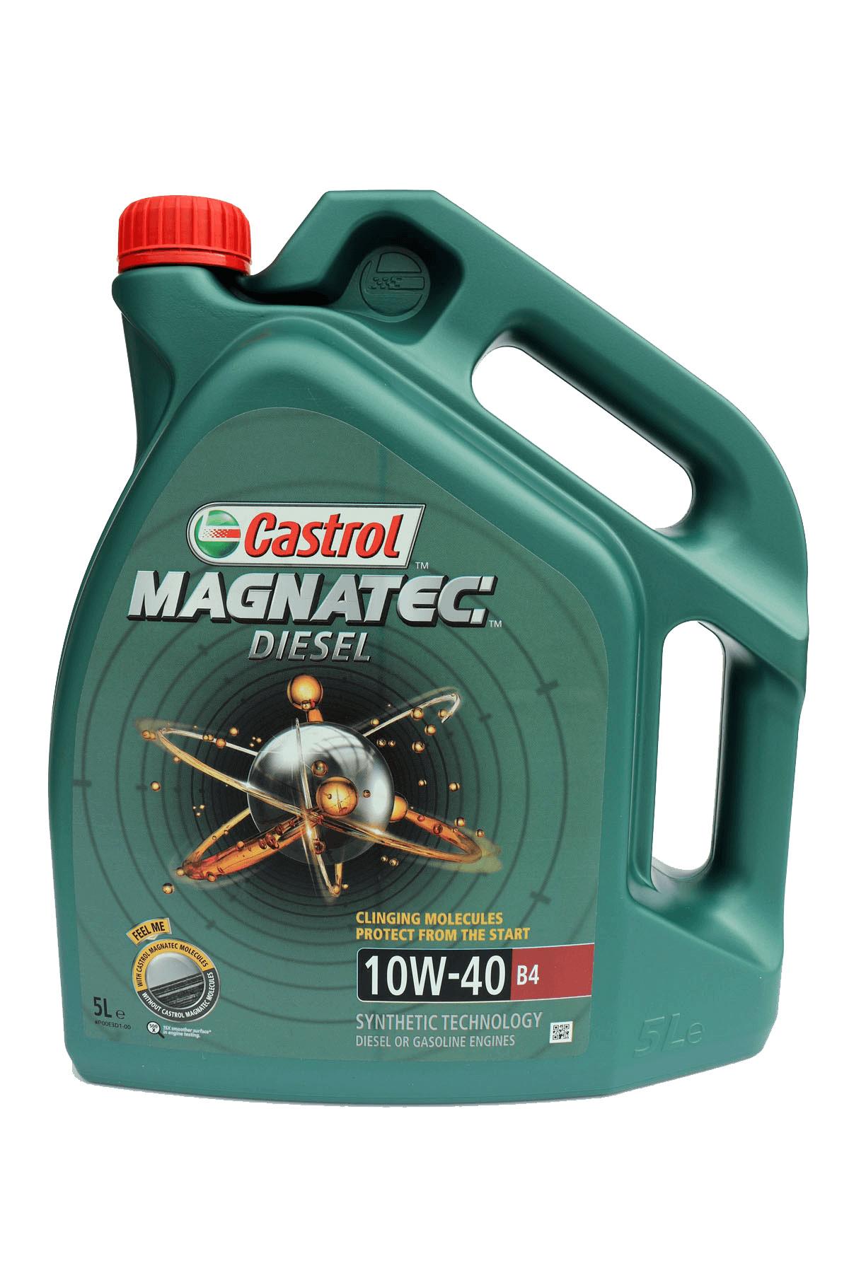 Castrol Magnatec Diesel 10W-40 B4 Motoröl, 5l