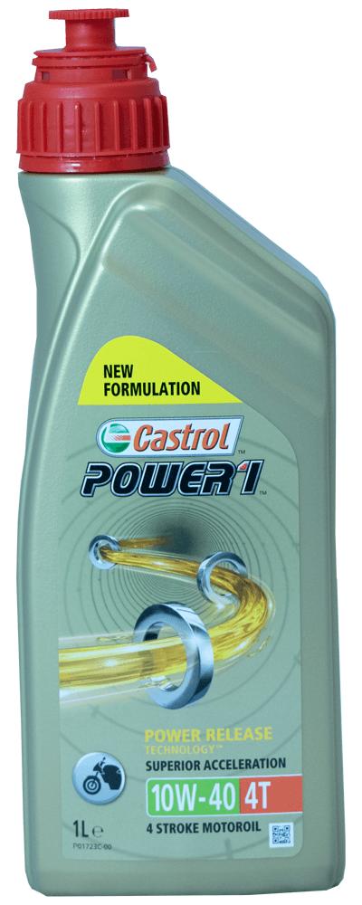 Castrol Power 1 4T 10W-40 Motorrad Motoröl 1l