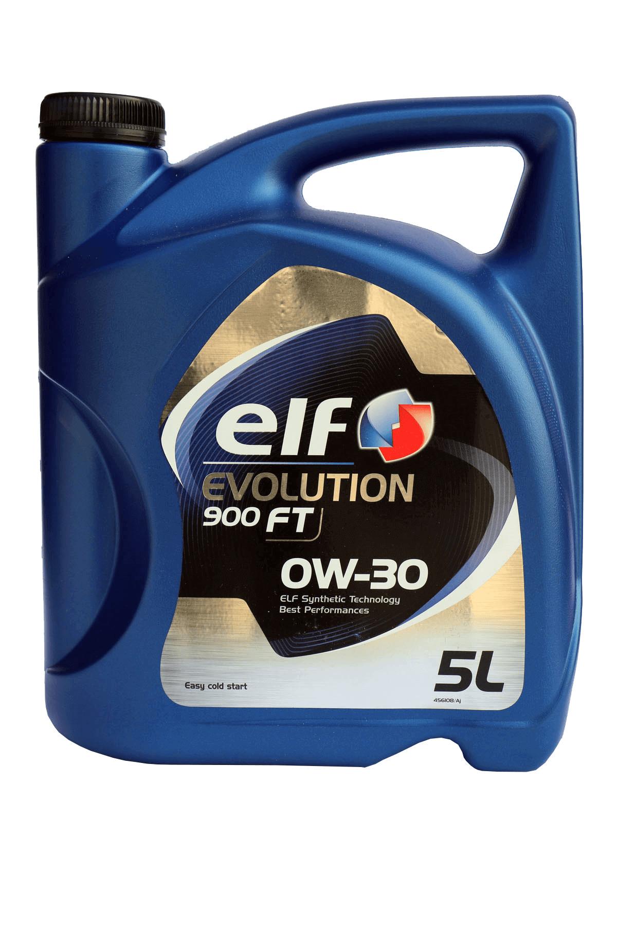 ELF 0W-30 Evolution 900 FT 0W-30 Motoröl, 5l