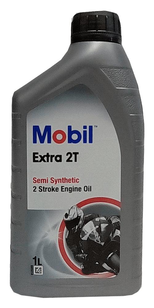 Mobil Extra 2T Motorrad Motoröl 1l