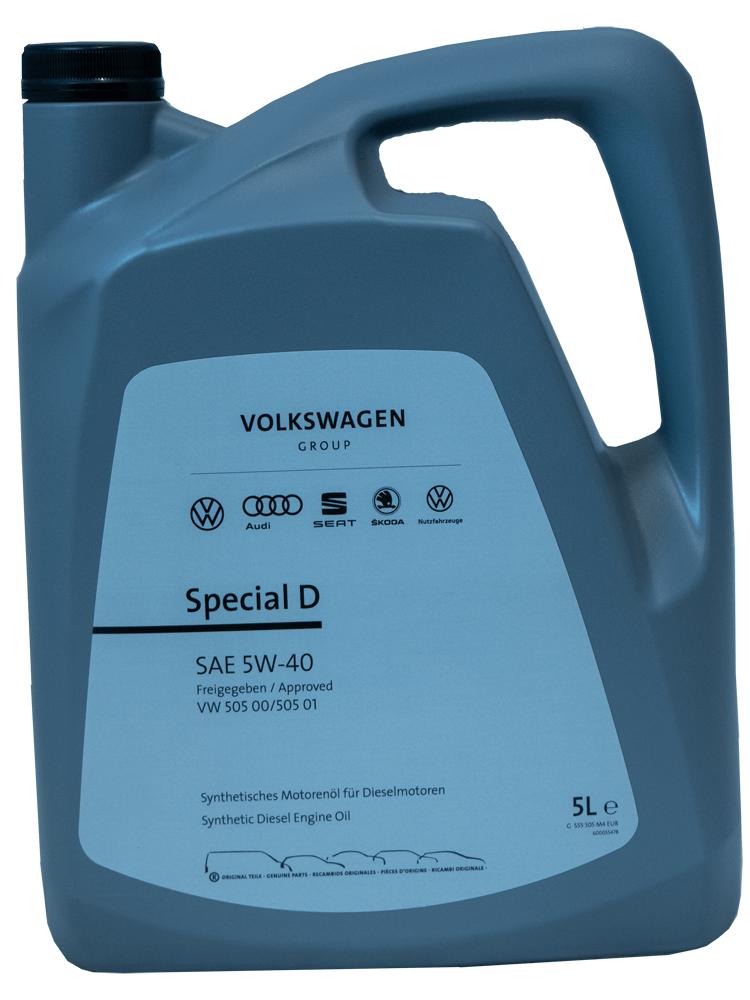 Volkswagen Special D 5W-40 Motoröl 5l
