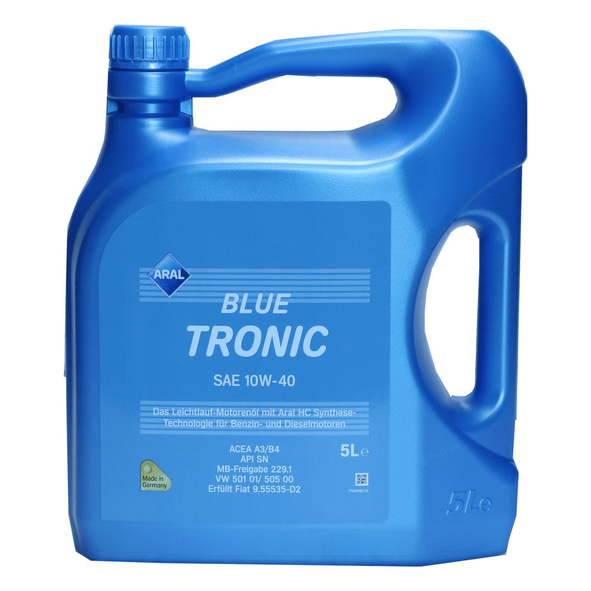 Aral BlueTronic 10W-40 Motoröl 5l