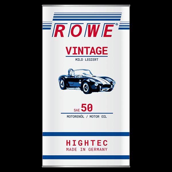 Rowe Hightec Vintage SAE 50 MILD LEGIERT Classicöl/Motoröl, 5l