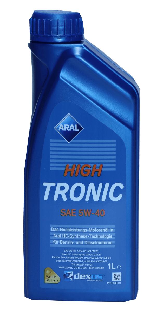 Aral HighTronic 5W-40 Motoröl 1l