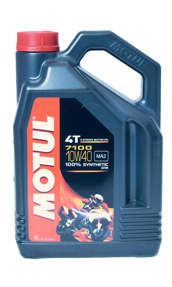 Motul 7100 Ester 10W-40 Motorrad Motoröl 4l