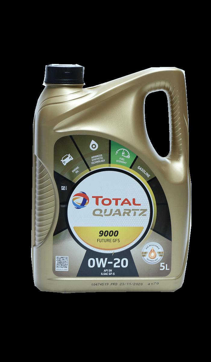 Total Quartz 9000 FUTURE GF5 0W-20 Motoröl, 5l