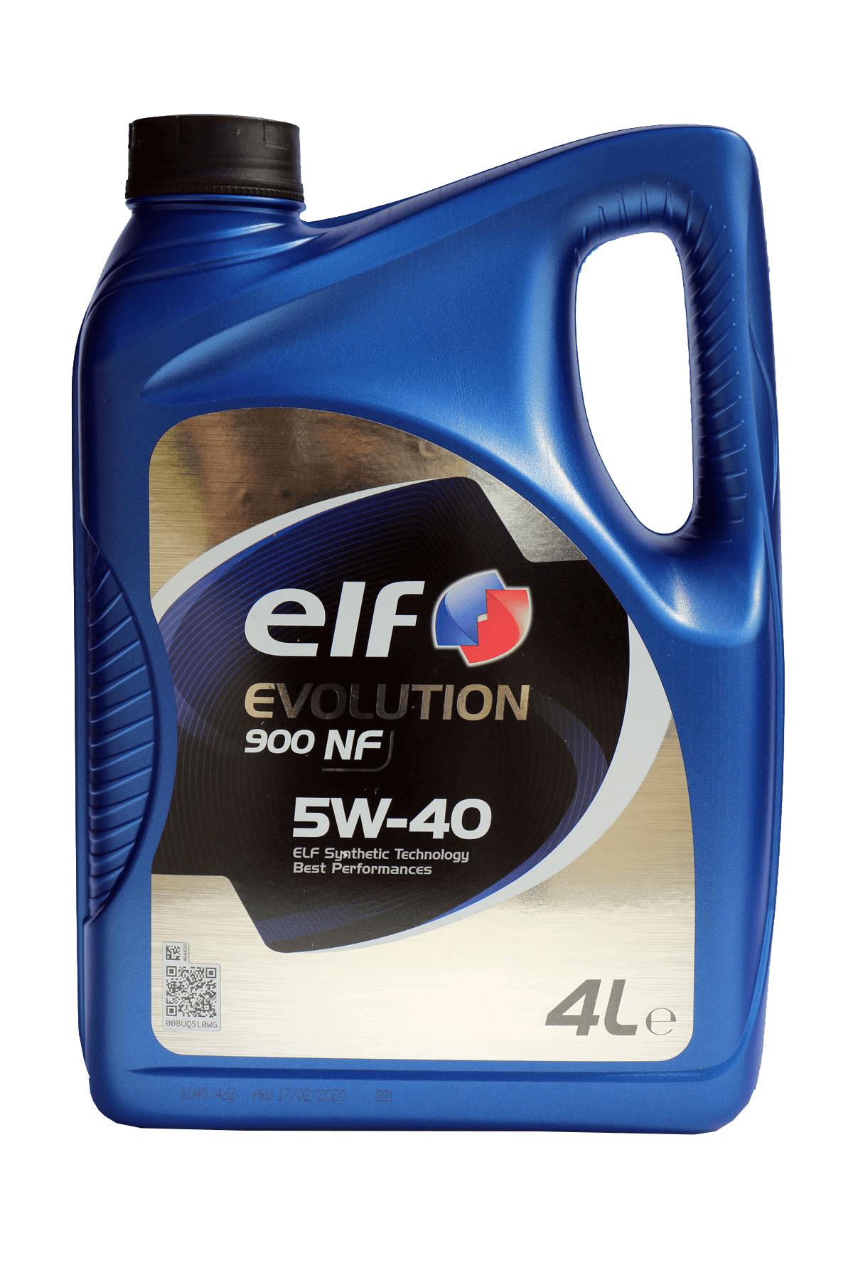 ELF Evolution 900 NF 5W-40 Motoröl, 4l