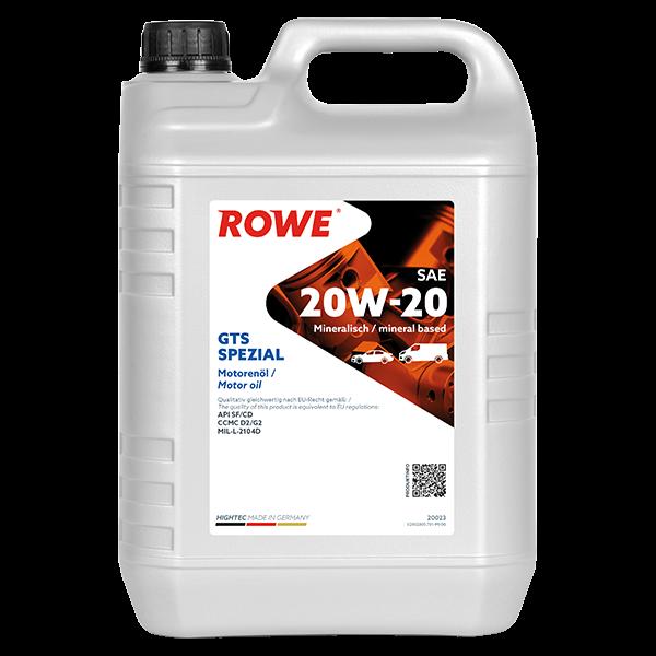 Rowe Hightec GTS SPEZIAL SAE 20W-20 Motoröl, 5l